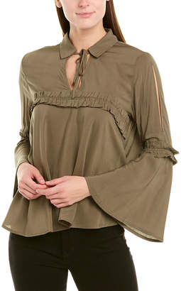 Collective Concepts Ruffle Blouse