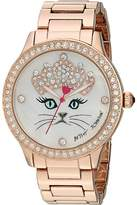 Betsey Johnson BJ00131-118 - Purrfect Timing Watches