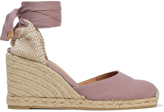 Castaner Carina Cotton-canvas Wedge Espadrilles