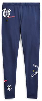 Ralph Lauren Varsity Stretch Jersey Legging