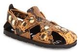 Acne Studios Women's 'Oline' Snake Embossed Sandal
