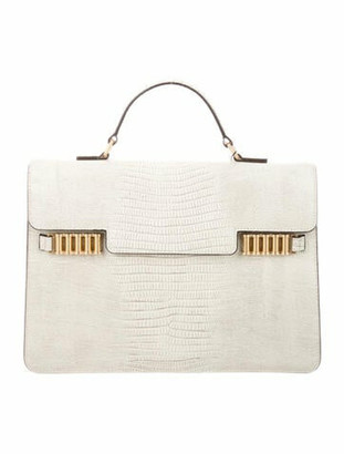 Donna Karan Leather Handle Bag w/ Tags White