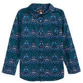 Tea Collection Toddler Boy's Linton Print Woven Shirt