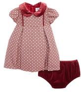 Luli & Me Infant Girl's Floral Jacquard Dress