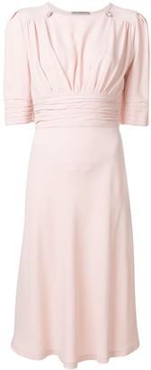 Ermanno Scervino Cinched Waist Dress