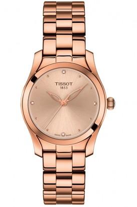 Tissot Ladies T-Wave Diamond Watch T1122103345600