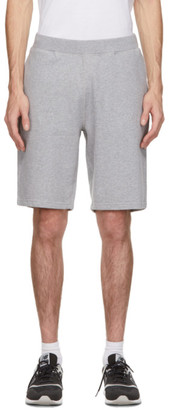 Sunspel Grey Loopback Shorts