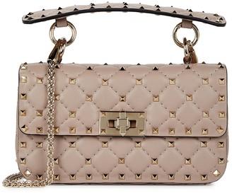 Valentino Garavani Rockstud Spike Small Leather Cross-body Bag
