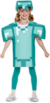 Disguise Minecraft Armor Classic Dress-Up Set - Kids