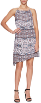 BCBGeneration Casual Print Asymmetrical Dress