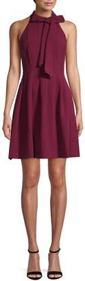 Vince Camuto Bow Fit--Flare Dress