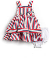 Laura Ashley Baby Girls 12-24 Months Two-Piece Dress Set