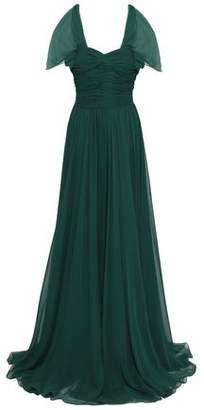 Jason Wu Ruched Gathred Silk-georgette Gown