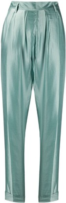 Ann Demeulemeester High Waisted Tapered Trousers