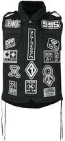 Kokon To Zai multi patch waistcoat