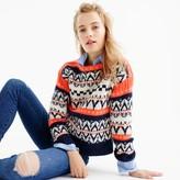 J.Crew Festive Fair Isle sweater
