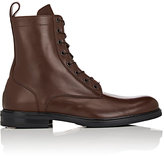Barneys New York Men's Leather Combat Boots
