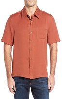 Nat Nast Regular Fit Diamond Textured Sport Shirt