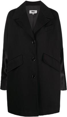 MM6 MAISON MARGIELA Single-Breasted Oversized Coat