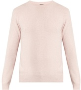 A.p.c. Ringo Crew-neck Wool And Cashmere-blend Sweater