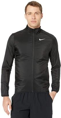 Nike Aerolayer Jacket (Black/Grey Fog/Reflective Silver) Men's Clothing