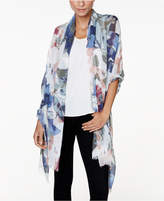 Vince Camuto Foliage Wrap and Scarf in One