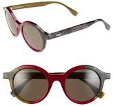 Fendi Women's 48Mm Sunglasses - Green Copper Grey