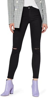Find. Women's Skinny Low Waist Ripped Jeans
