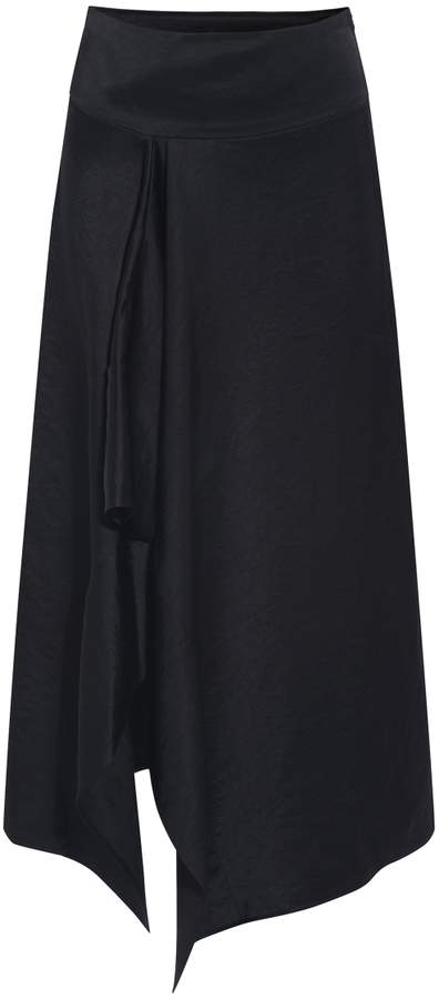 Zero Maria Cornejo Ero Ruffled Skirt
