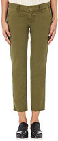 Nili Lotan Women's East Hampton Frayed Trousers-GREEN