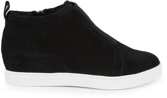 Blondo Garrick Suede Wedge Sneakers