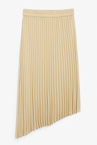 Thumbnail for your product : Monki A-symmetric pleated skirt
