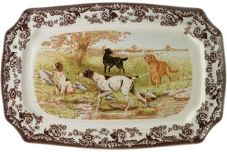Spode Woodland All Dogs Rectangular Platter