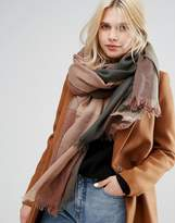 Pieces Oversized Scarf