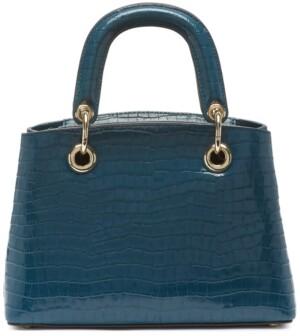 DKNY Toni Small Leather Satchel
