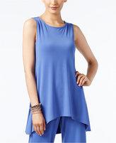 Alfani Sleeveless High-Low Tunic, Only at Macy's