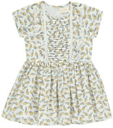 Simple Sale - Mexico Ruffled Pineapple Dress