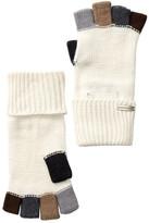 Steve Madden Color Block Boyfriend Fingerless Gloves
