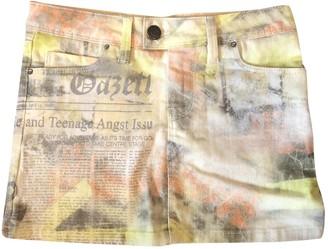 John Galliano Multicolour Denim - Jeans Skirts
