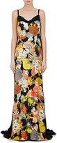 Dries Van Noten Women's Doty Embellished Crepe Gown-Black