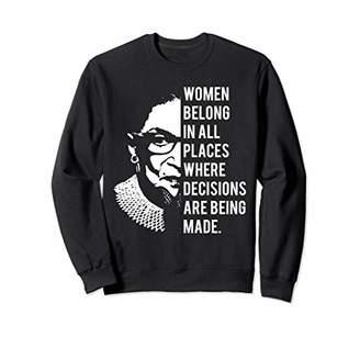 Ruth Bader Ginsburg Women RGB Tee Shirts