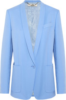 Stella McCartney Bartlett cotton-twill blazer
