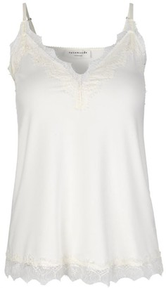 Rosemunde Ivory Billie Strap Top With Lace - 34