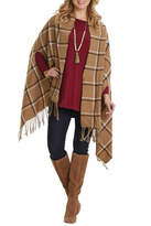 Mud Pie Ava Plaid Wrap