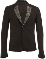 Haider Ackermann single breasted blazer - men - Cotton/Acrylic/Nylon/Virgin Wool - 46