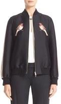 Stella McCartney Women's Nashville Embroidered Bomber Jacket
