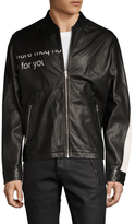 McQ by Alexander McQueen Leather Racer Jacket