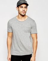 Selected Homme Scoop Neck T-shirt