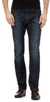 Jeff Banks Designer Dark Blue Straight Leg Jeans