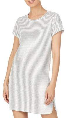 Lauren Ralph Lauren Striped Short Sleeve Knit Sleeptee